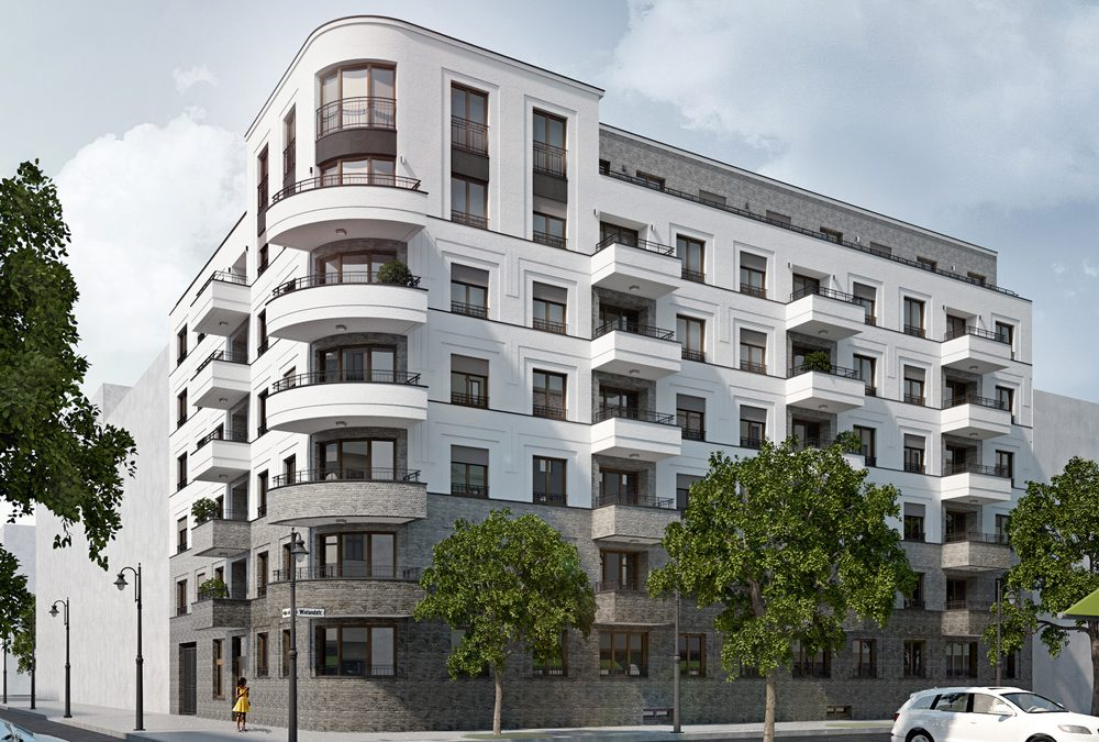 WP | Wohnungsbau Wieland- Ecke Pestalozzistraße